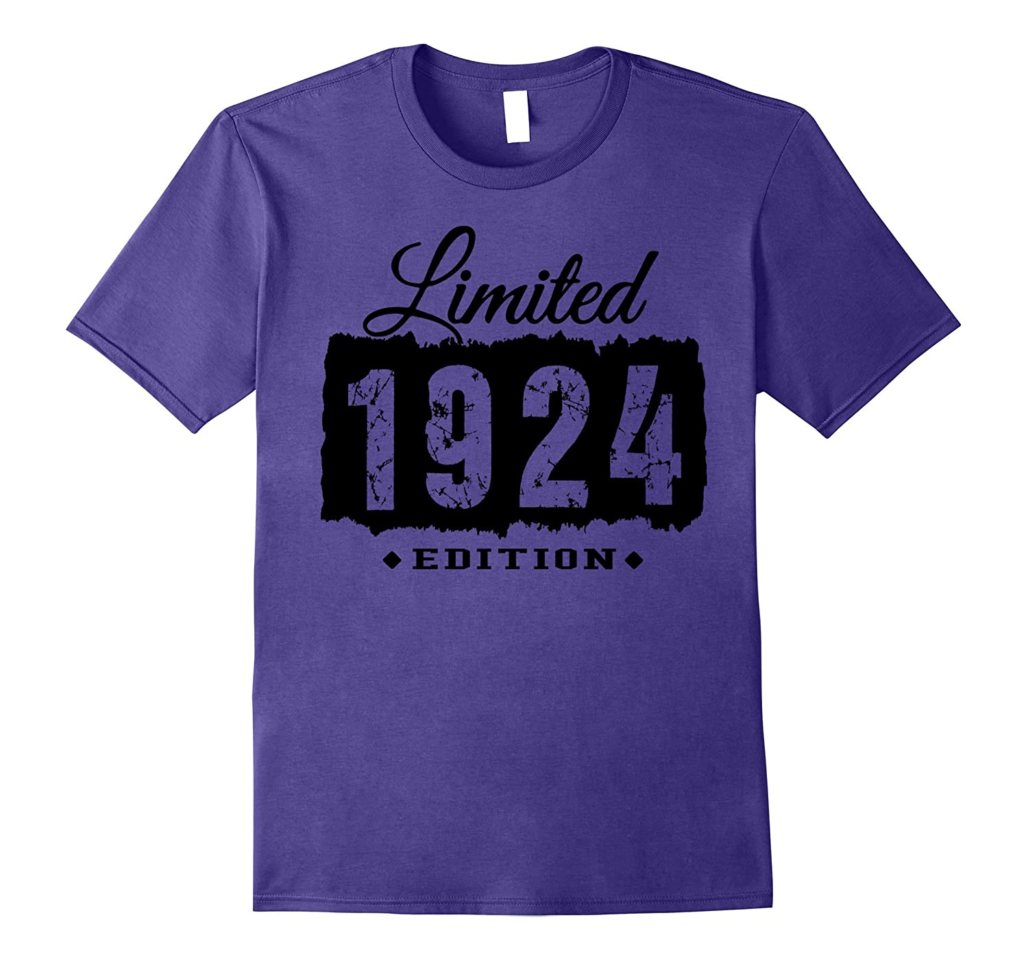 1924 Limited Edition 93th Birthday 93 Years Old Shirt-PL