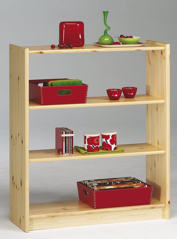 Steens AXEL 2 Regal Bücherregal, Kiefernholz, naturfarben lackiert