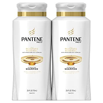 Pantene Pro-V Daily Moisture Renewal Hydrating Shampoo, 25.4 Fluid Ounces (Pack of 2)