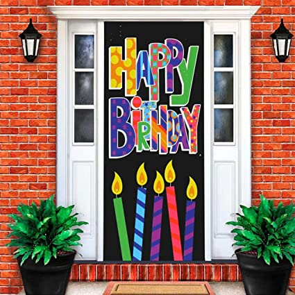Amazon Happy Birthday Sign Kitchen Dining