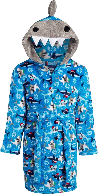 Only Boys PlushFleece Animal Character Hooded Bathrobe (Toddler/Little Boys/Big Boys)
