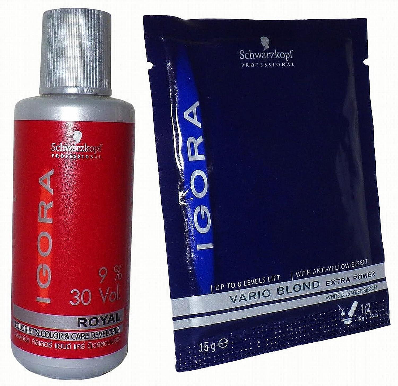 Schwarzkopf Igora Vario Hair Bleaching Powder Kit Vario Blond Schwarzkopf Professional