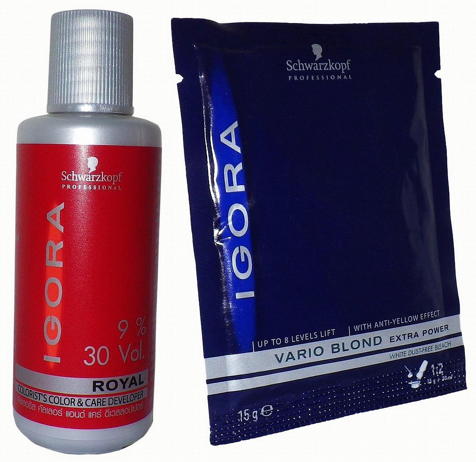Schwarzkopf Igora Vario Hair Bleaching Powder Kit Vario Blond