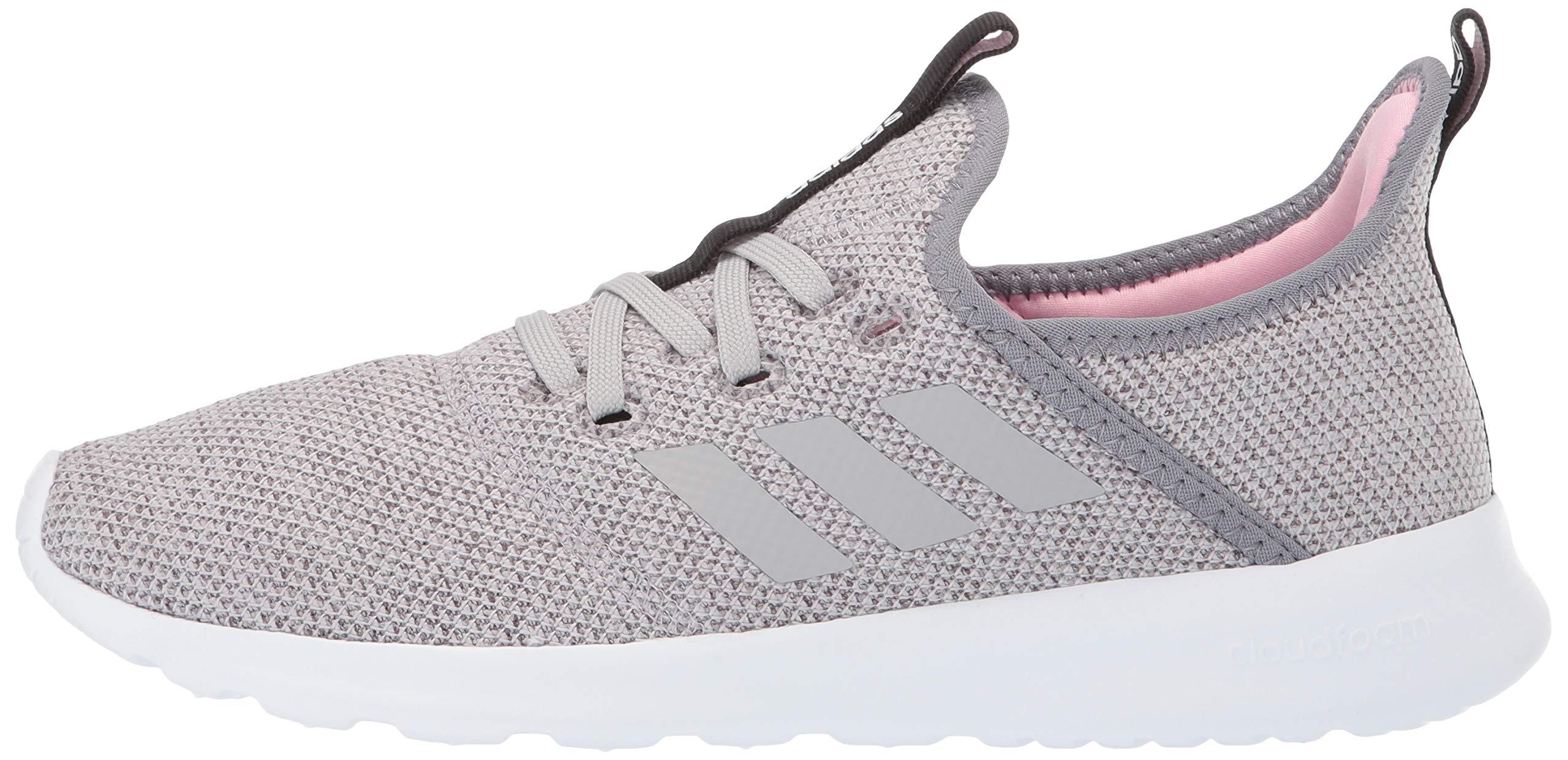 adidas Women's Cloudfoam Pure, Grey/True Pink, 5.5 M US by adidas (Image #5)