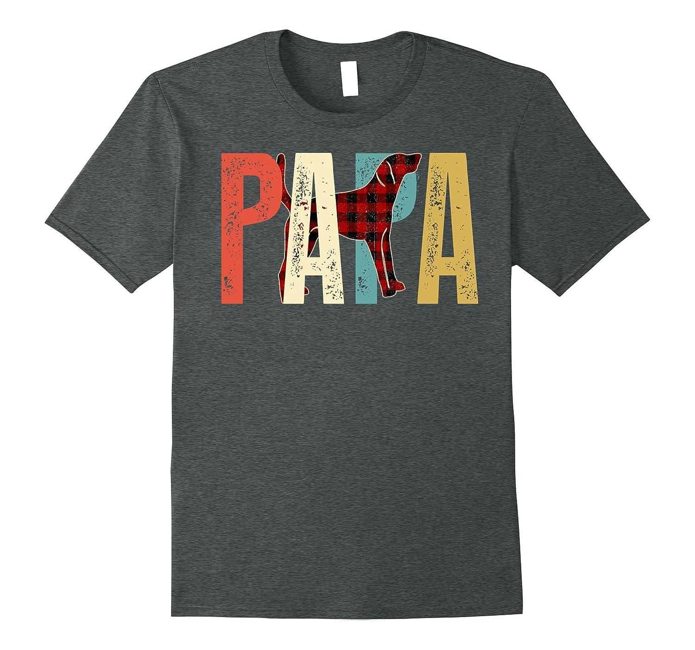 Papa American Foxhound T-Shirt For American Foxhound Dog Lov