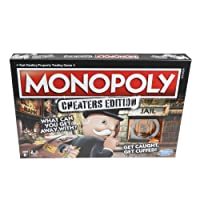 Deals on Hasbro Monopoly Game: Cheaters Edition Board Game