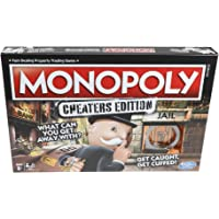 Monopoly Cheaters Edition Hasbro Board Game For Ages 8+