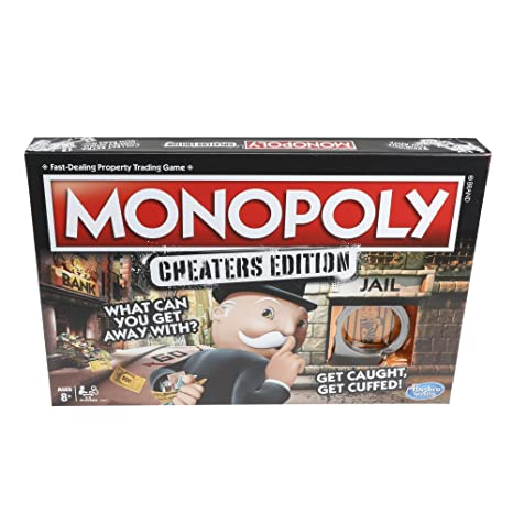 monopoly game cheaters edition board game value pack