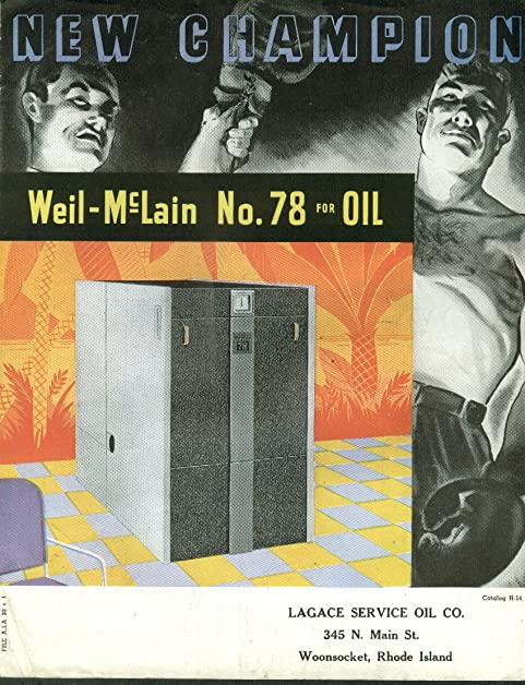 Weil-McLain #78 Heating Boiler for Oil folder 1940s at Amazon\'s ...