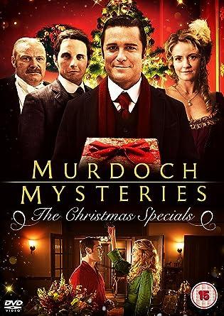 Murdoch Mysteries Christmas Special 2020 Murdoch Mysteries: The Christmas Specials [DVD]: Amazon.co.uk