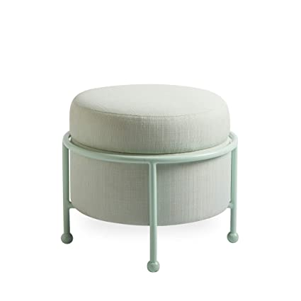 Now House By Jonathan Adler Loop Upholstered Storage Ottoman, Cannes Pool by Now House By Jonathan Adler