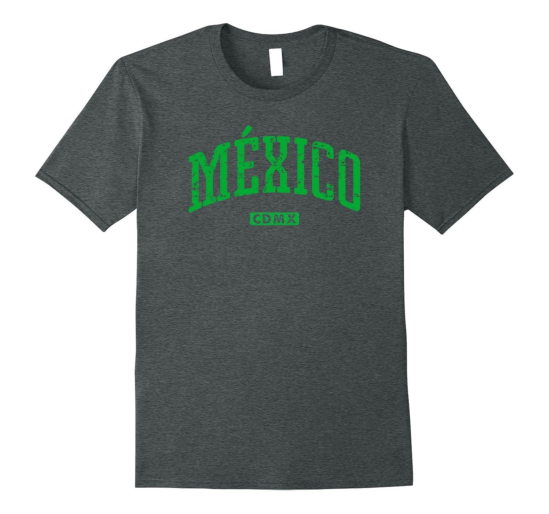 Mexico CDMX Vintage City T-Shirt-Art