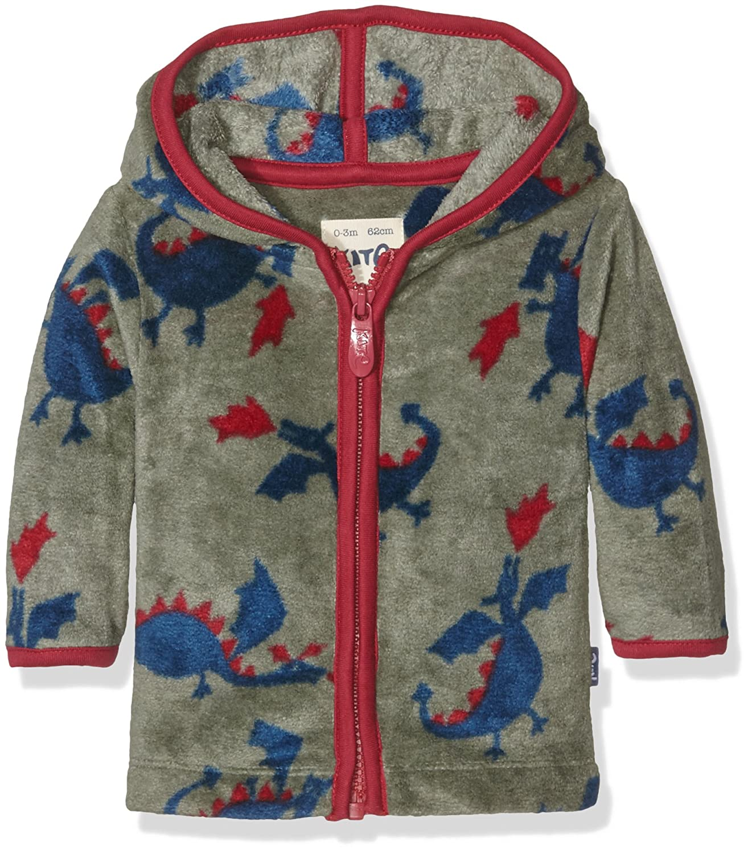 Kite Baby-Jungen Sweatshirt Dragon Zip Fleece BB799