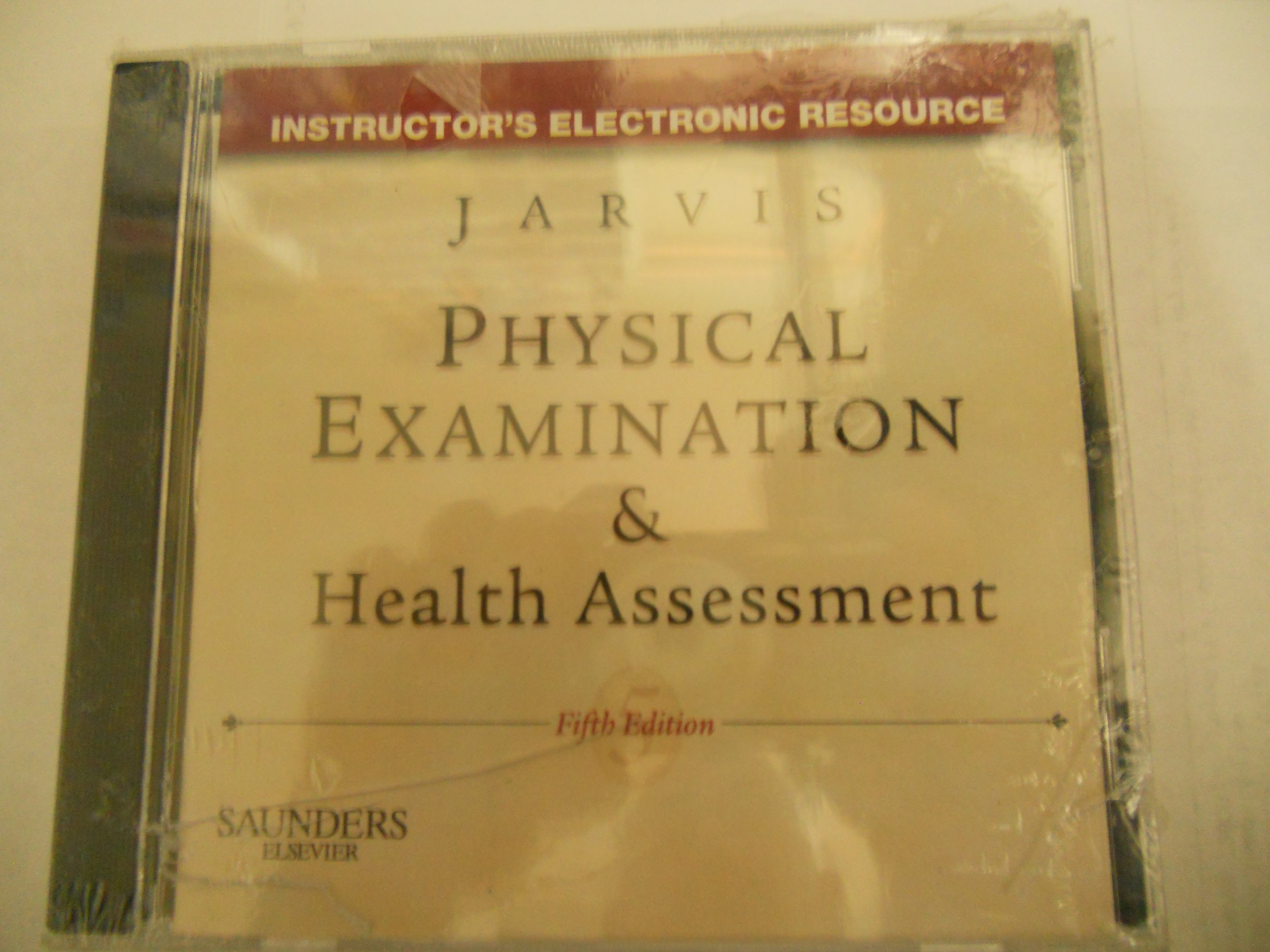 Physical Examination and Health Assessment (Instructor's Electronic  Resource): Jarvis: 9781416047285: Amazon.com: Books