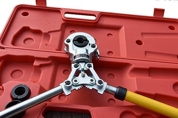 Tenazas de tubo, alicate para tubos PEX PE-X 16 - 32 mm: Amazon.es: Bricolaje y herramientas