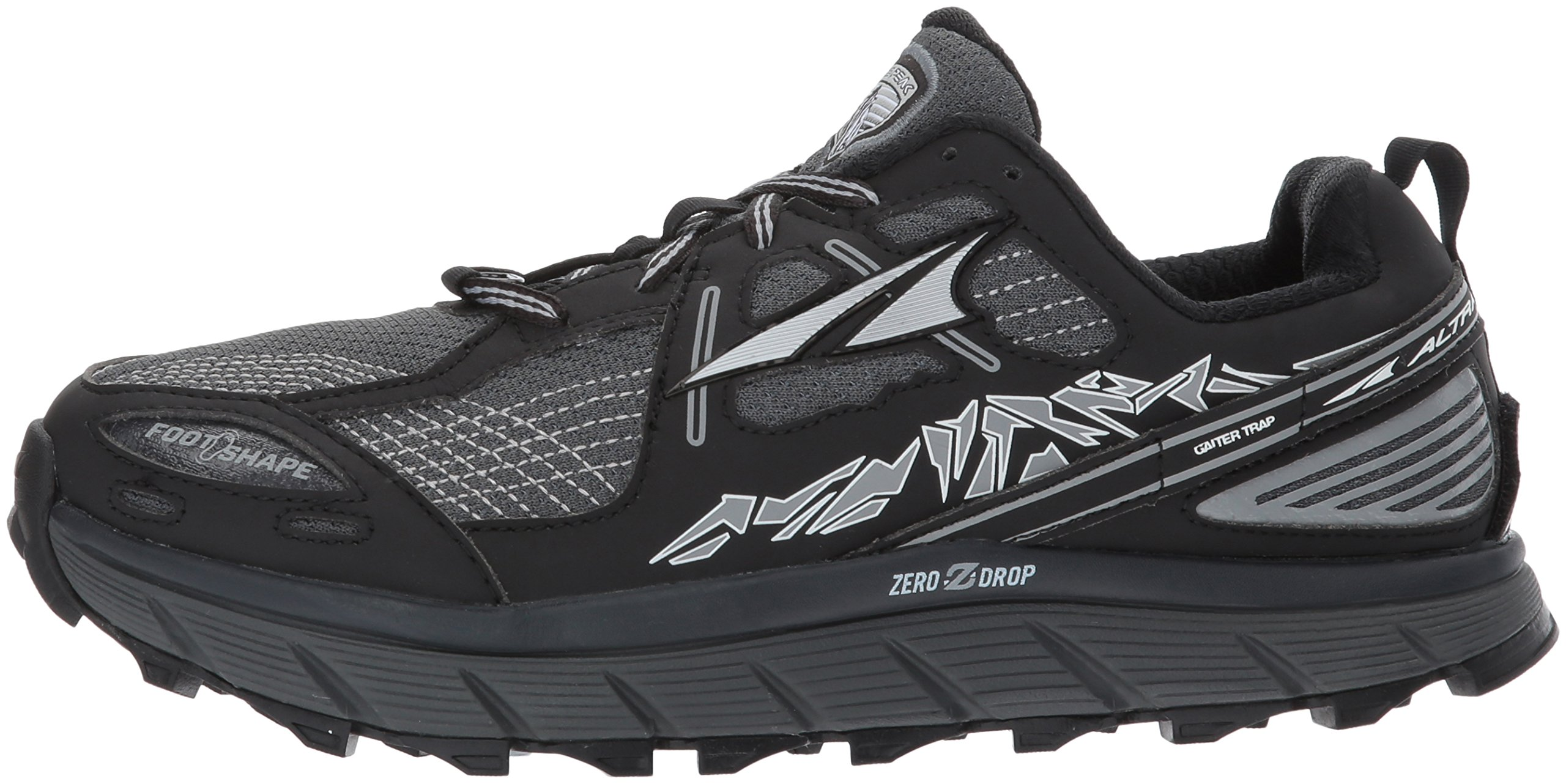 Altra Women's Lone Peak 3.5 Running Shoe, Black, 8.5 B US by Altra (Image #5)