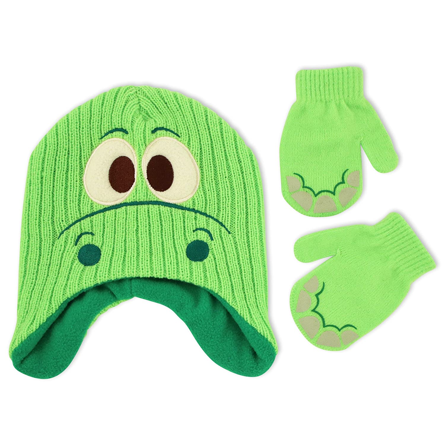 Disney Toddler Boys The Good Dinosaur Hat and Mitten Cold Weather Set, Age 2-5 GOF67192AP