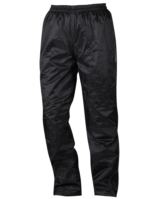 Nero XS NERVE 1512070404/_01 Pantaloni Antipioggia Tenere al Caldo Nebraska