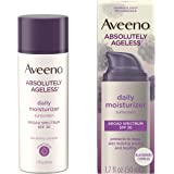 Aveeno Absolutely Ageless Anti-Wrinkle Facial Moisturizer with SPF 30 Sunscreen, Antioxidant-Rich Blackberry Complex…