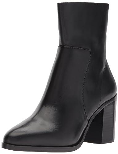 Steve Madden Women's Rewind Fashion Boot, Black Leather, ...