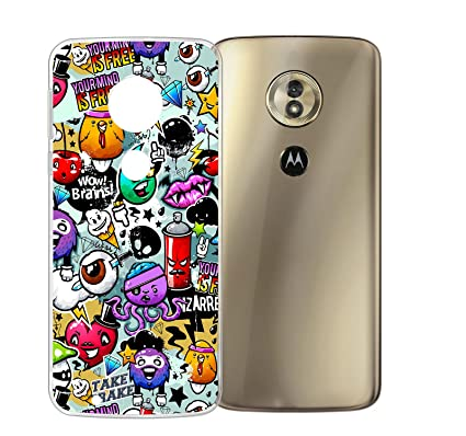 ZXLZKQ Funda para Motorola Moto G6 Play Cover Animales de ...