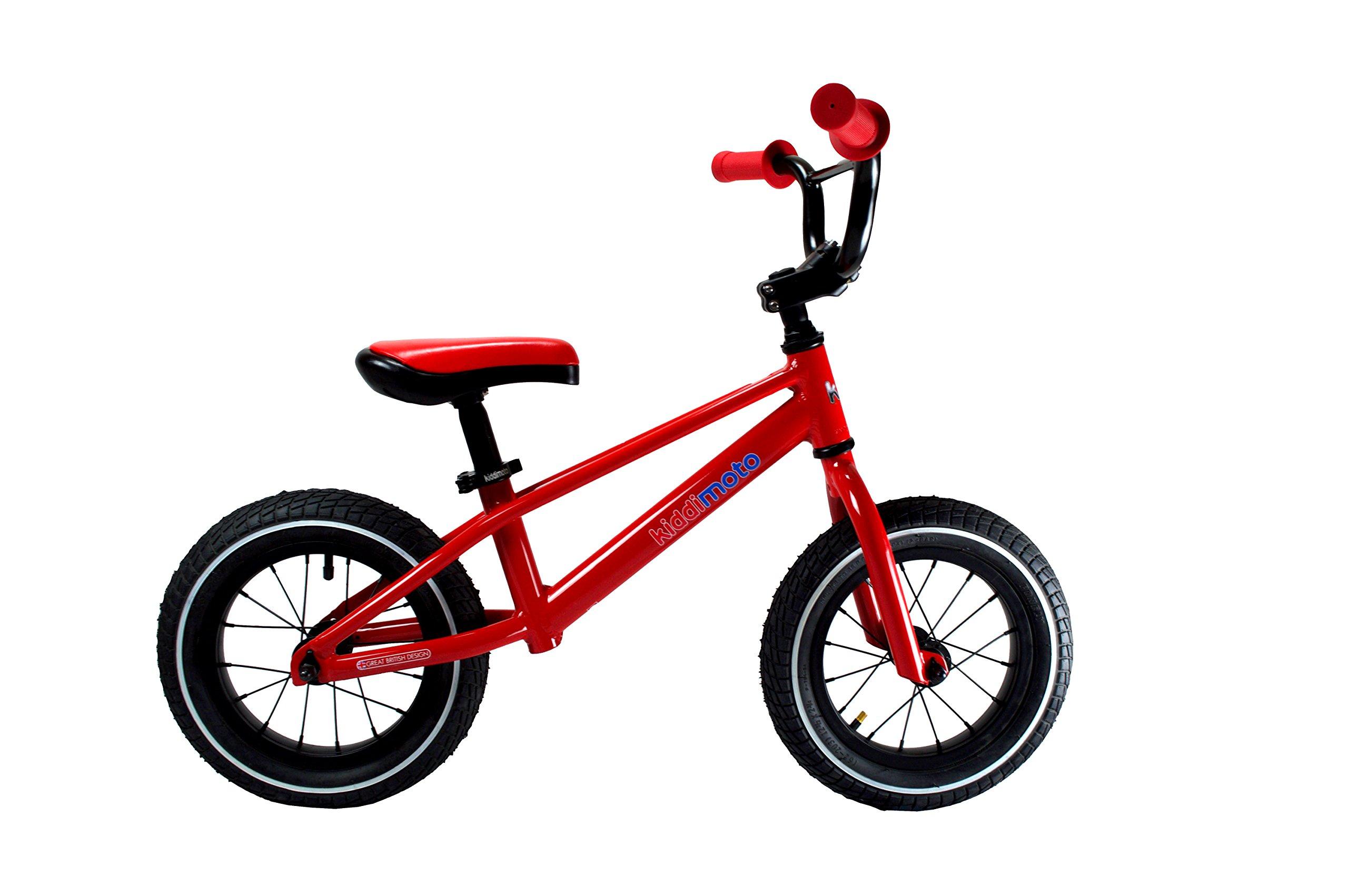 Kiddimoto BMX Running/Balance Bike, Red by Kiddimoto (Image #2)