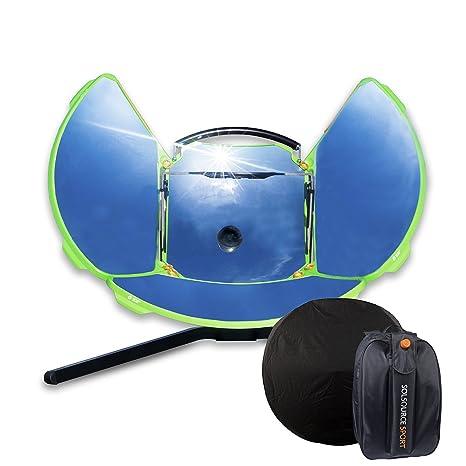 SolSource Kit de cocina portátil con espejo reflectante para camping al aire libre