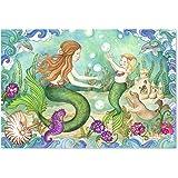 Melissa & Doug Mermaid Playground Jumbo Jigsaw Floor Puzzle (48 pcs, 2 x 3 feet)
