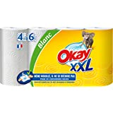 Okay - Adapt kitchen, rollo de papel de cocina xxl, pack de 2 (2x4 unidades)