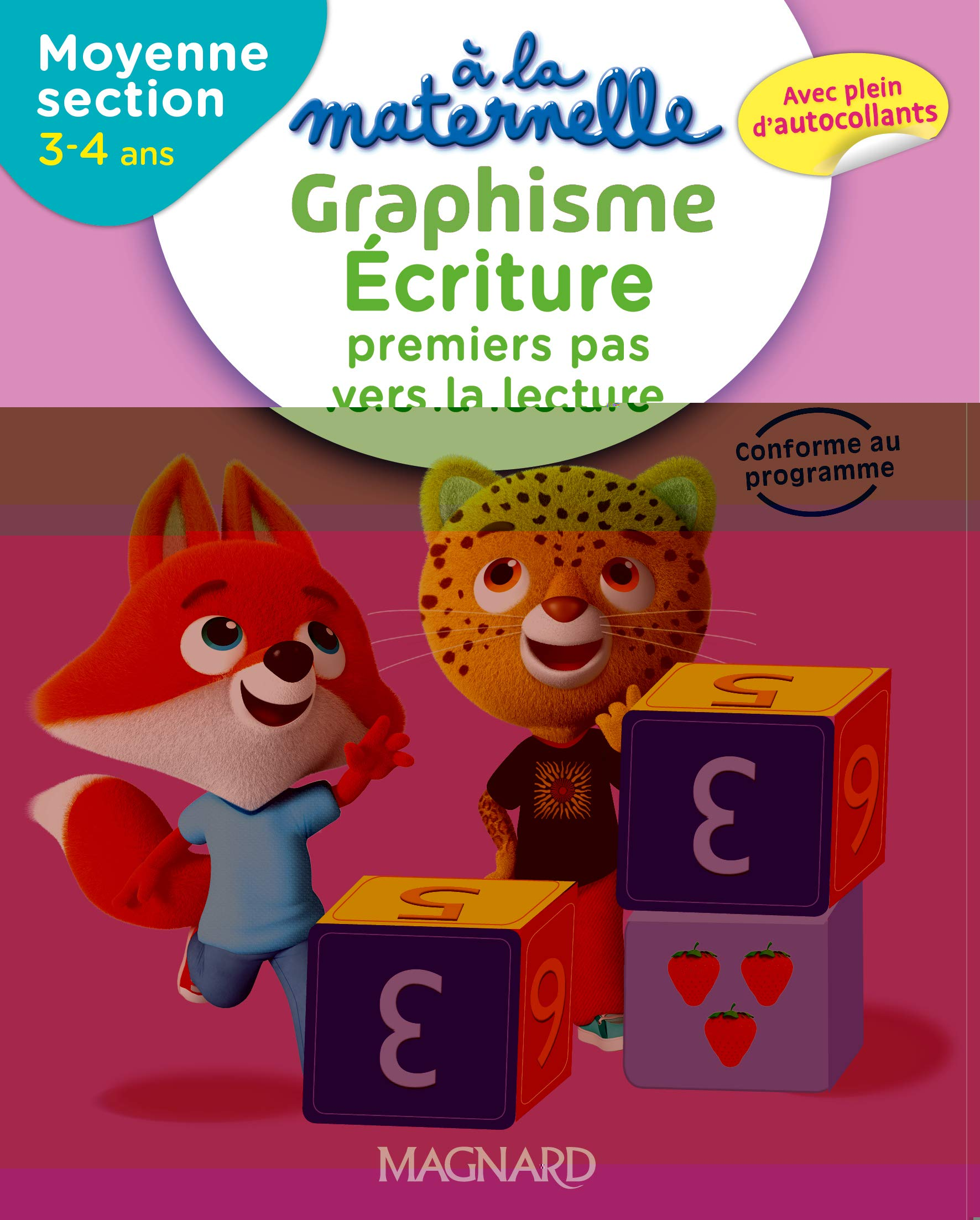 Graphisme écriture MS 4-5 ans à la maternelle : Premiers pas ...