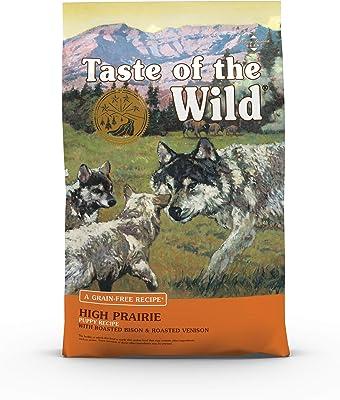 Taste of The Wild Grain Free Premium High Protein Dry Dog Food High Prairie Puppy