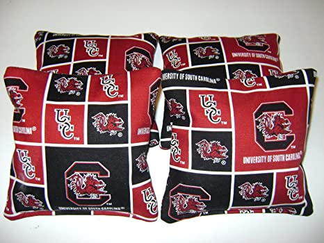 Stupendous 4 Cornhole Usc South Carolina Gamecocks Bean Bag Baggo Corn Hole Tailgate Toss Gamerscity Chair Design For Home Gamerscityorg