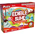 Playz Edible Slime Candy Making Food Science Chemistry Kit for Kids with 25+ STEM Experiments to Make Slimy Hot Chocolate, Ma