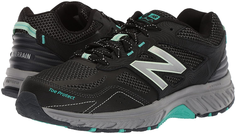 New Balance Women's 510v4 B0751SMH5B Cushioning Trail Running Shoe B0751SMH5B 510v4 10.5 D US|Black 355cef