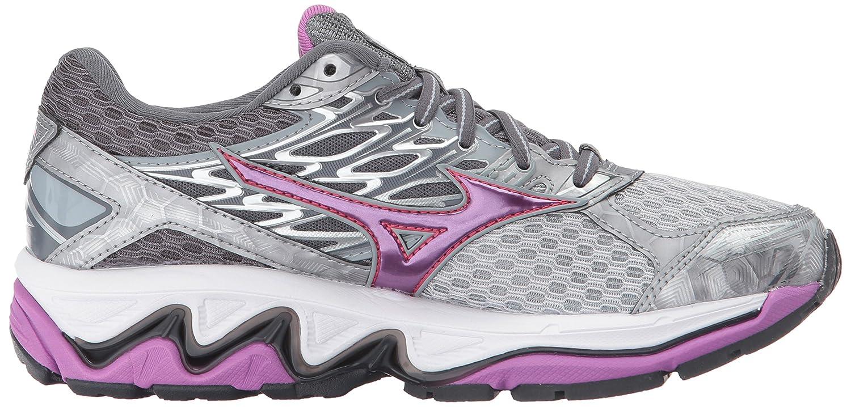 Mizuno Women's Wave Paradox 4 Running Shoe B01N0OFIGV 8.5 B(M) US|Griffin/Hyacinth Violet/Paradise Pink