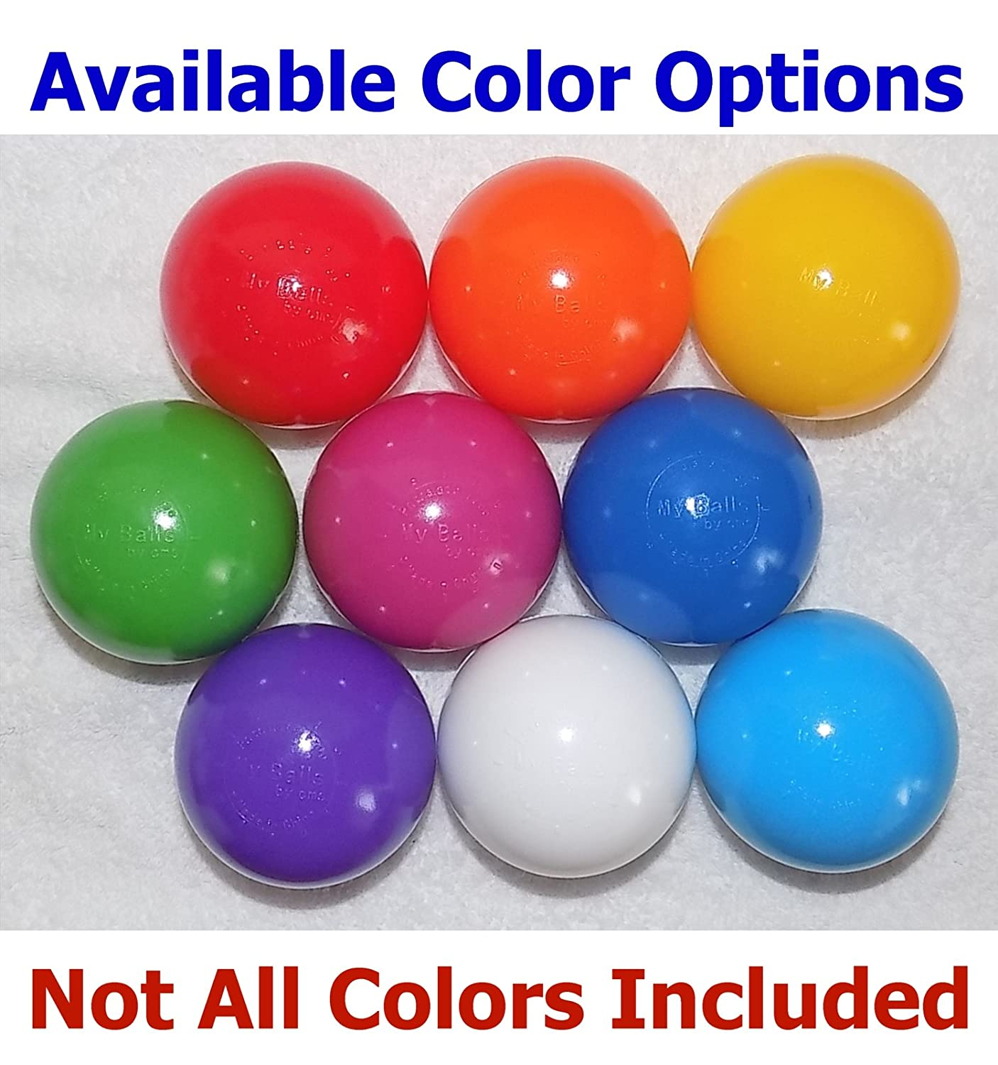 Color Jumbo 3 HD Commercial Grade Ball Pit Balls M-Pink, 100 Ros/é Crush-Proof Phthalate Free BPA Free PVC Free Lead Free Non-Toxic Non-Recycled Plastic My Balls Pack of 100 Macaron-Pink