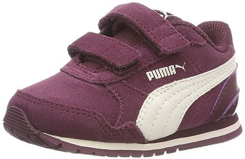 Puma Puma Ginnastica Ragazze Ragazze Runner St Da Rosso
