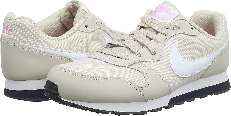 Nike MD Runner 2 (GS), Zapatillas para Niñas, Beige (Desert Sand/White-Pink-Gridiron 013), 35.5 EU: Amazon.es: Zapatos y complementos