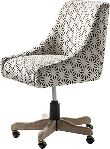 Snowflake Chenille Desk Chair