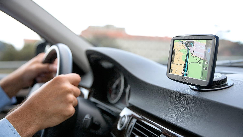 Navegador GPS 6 Pantalla t/áctil, resoluci/ón de 800 x 480 Pixeles, Ranura para Tarjeta microSD, Conector USB Versi/ón importada UK TomTom Via 62