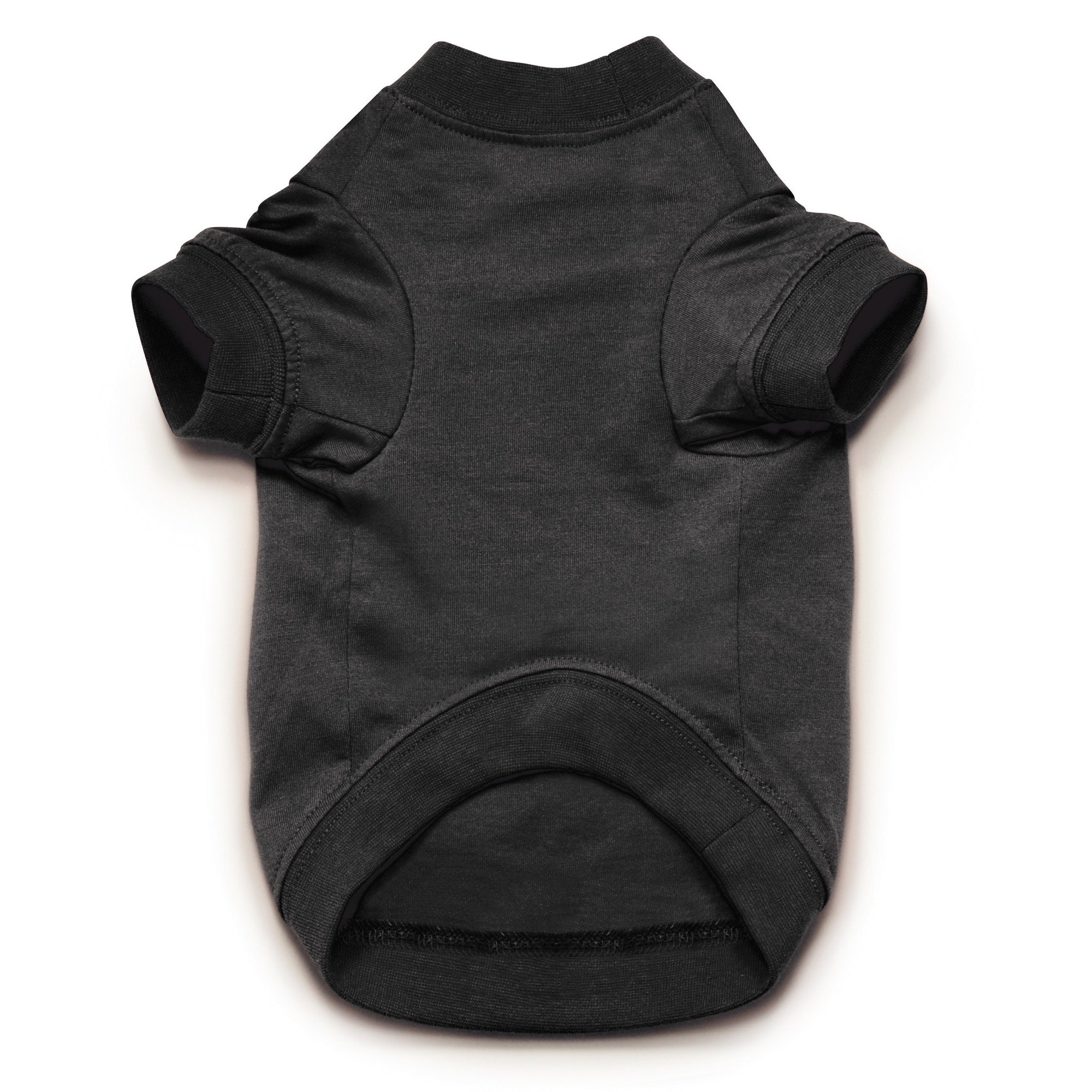 Zack & Zoey Basic Tee Shirt for Dogs, 20'' Large, Black by Zack & Zoey (Image #3)