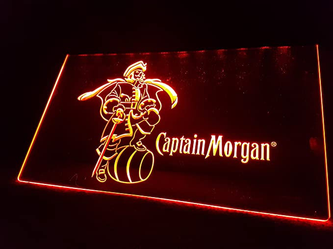 Zhengdian Electronic Captain Morgan Rum Bombilla LED Cartel ...