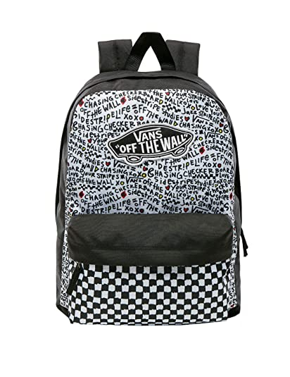 7ca8ab2df1 zaino vans realm backpack VN0A3UI6YDP 074 Size : -: Amazon.co.uk ...