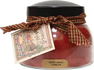 product image for A Cheerful Giver Berry Maple Cobbler Mama Jar Candle, Red