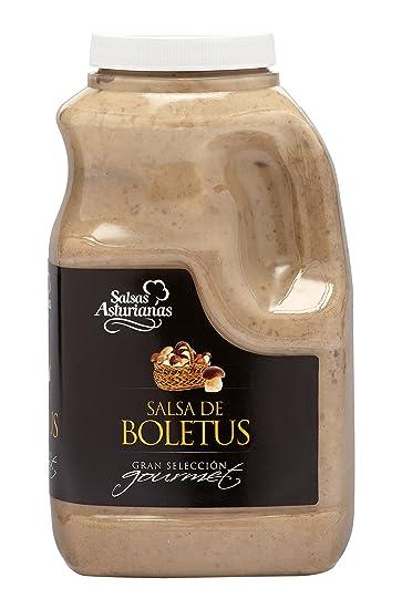 Salsas Asturianas Salsa Boletus - 1000 gr - [Pack de 3]