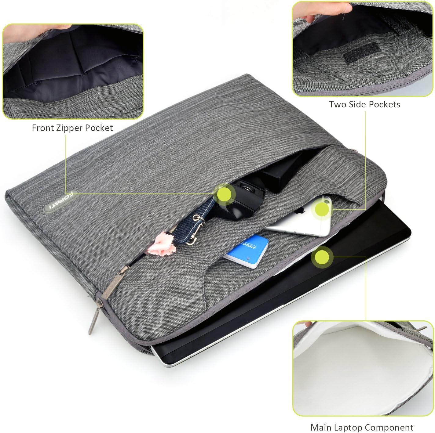 denim violet Housse de transport pour ordinateur portable multifonctionnel pour Surface book 2 YOUPECK 13,3 Sacoche pour ordinateur portable de 13 pouces pour ordinateur portable Macbook Air pro 13