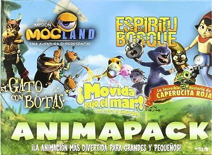 Pack animación [DVD]: Amazon.es: Cine y Series TV