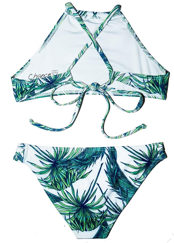 Chance Loves Girls Swimwear Jungle Shores Bikini for Tweens and Teens