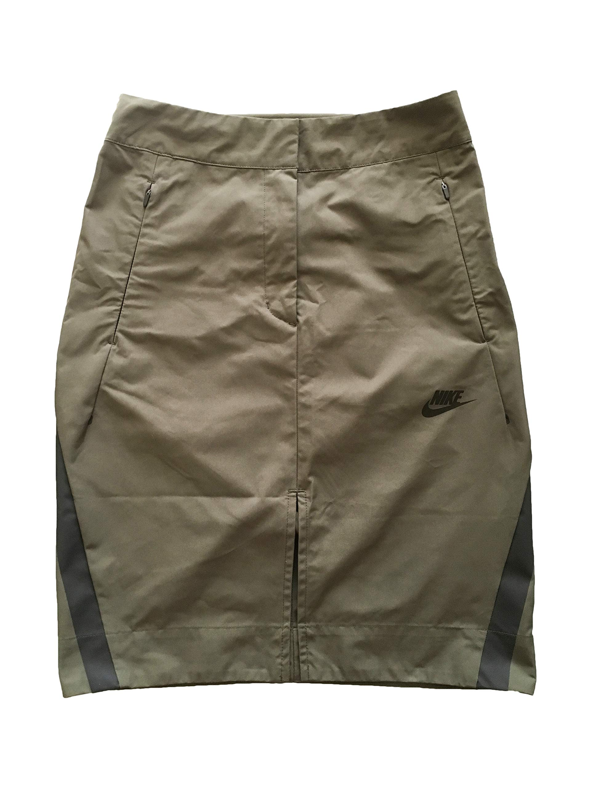 NIKE Women's Skirts Sports Skirt (XS, Khaki)