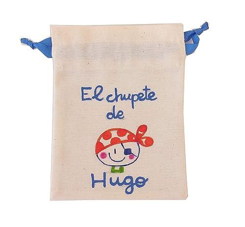 Bolsa Chupete personalizada Corsario: Amazon.es: Handmade